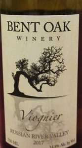 Bent Oak Winery Viognier Russian River 2017