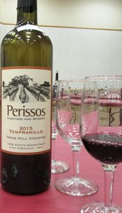 Perissos Vineyard and Winery Tempranillo 2015