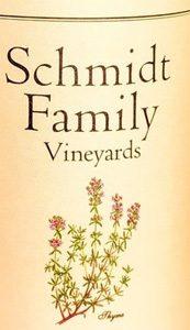 Schmidt Family Vineyards Estate Malbec Applegate Valley 2015